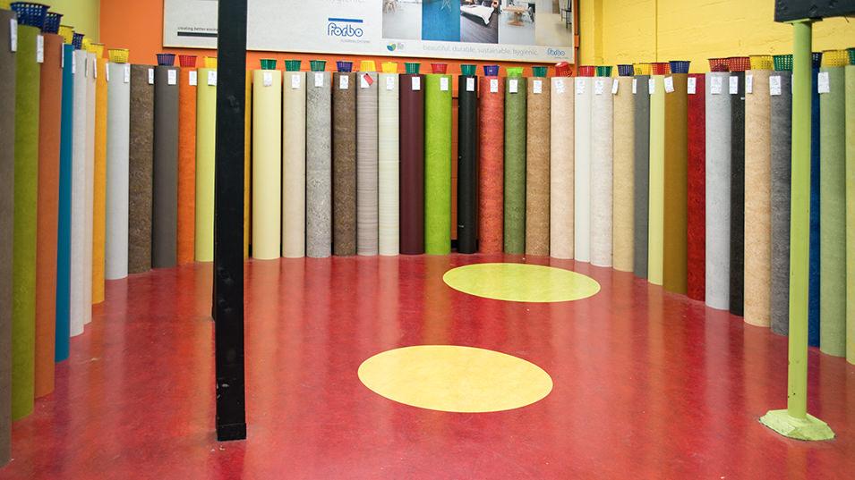Vinyl, Laminate & Marmoleum Flooring